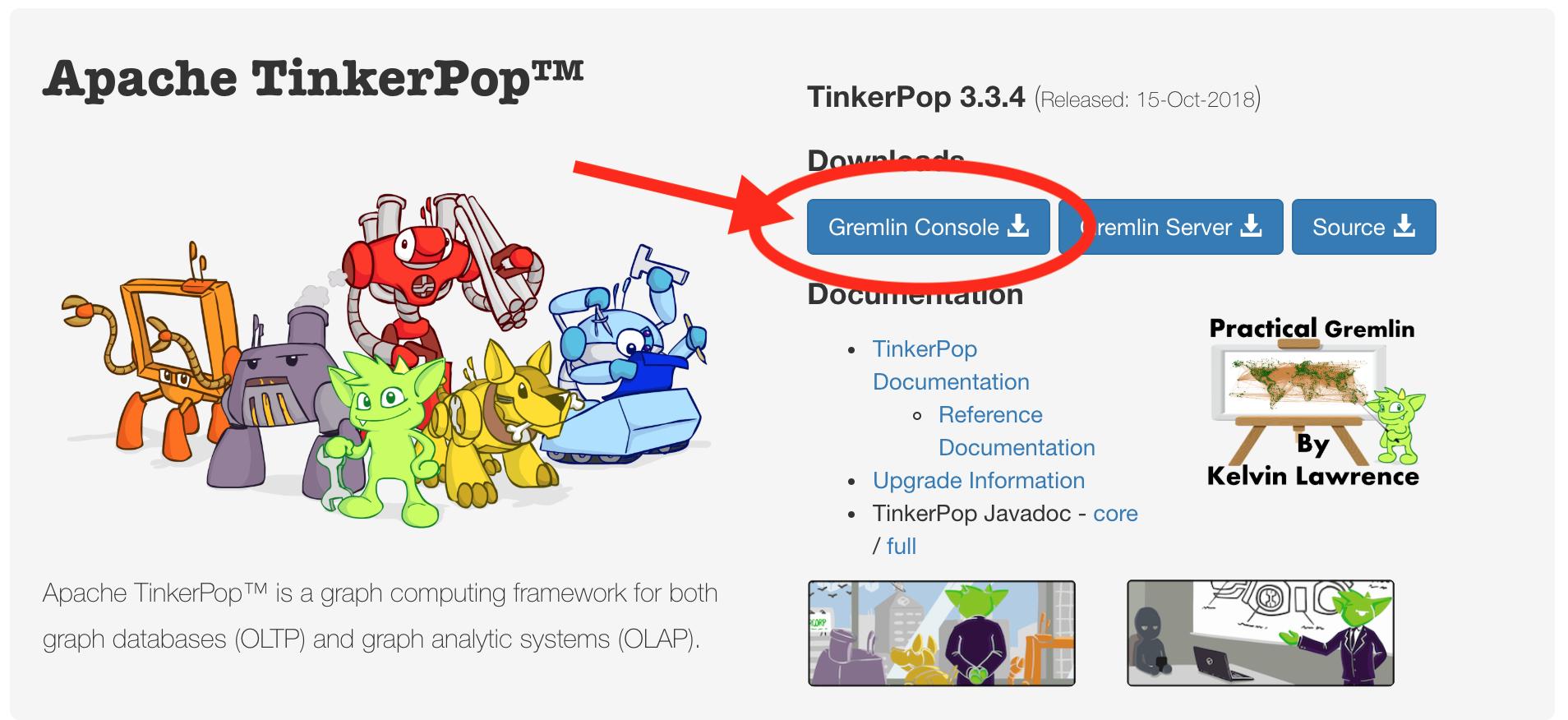 Apache TinkerPop Gremlin Console