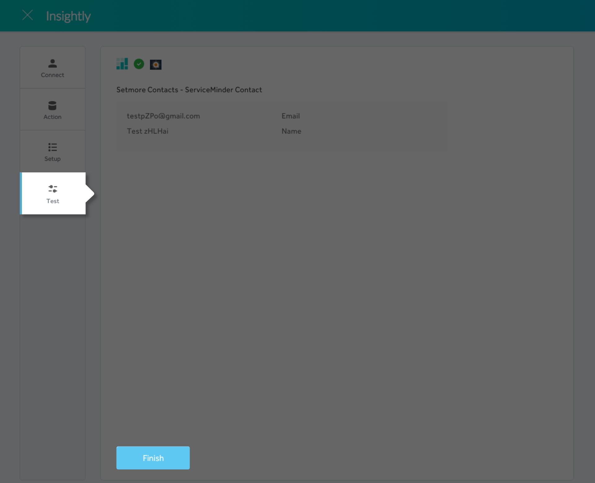 Completing the Setmore-Serviceminder integration setup